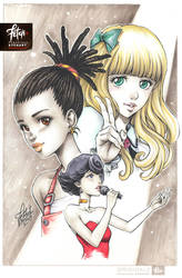 COPIC sketch 104_Carole and Tuesday