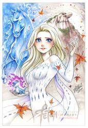 COPIC sketch 107 Elsa Godess