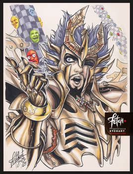 COPIC sketch 119 Deathmask LoS