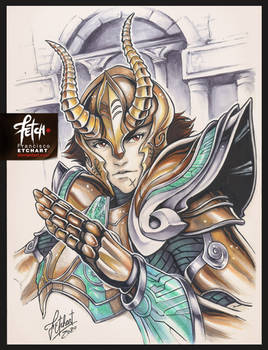 COPIC sketch 126 Shura LoS
