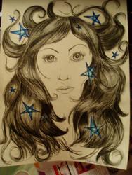diaphanous full of stars