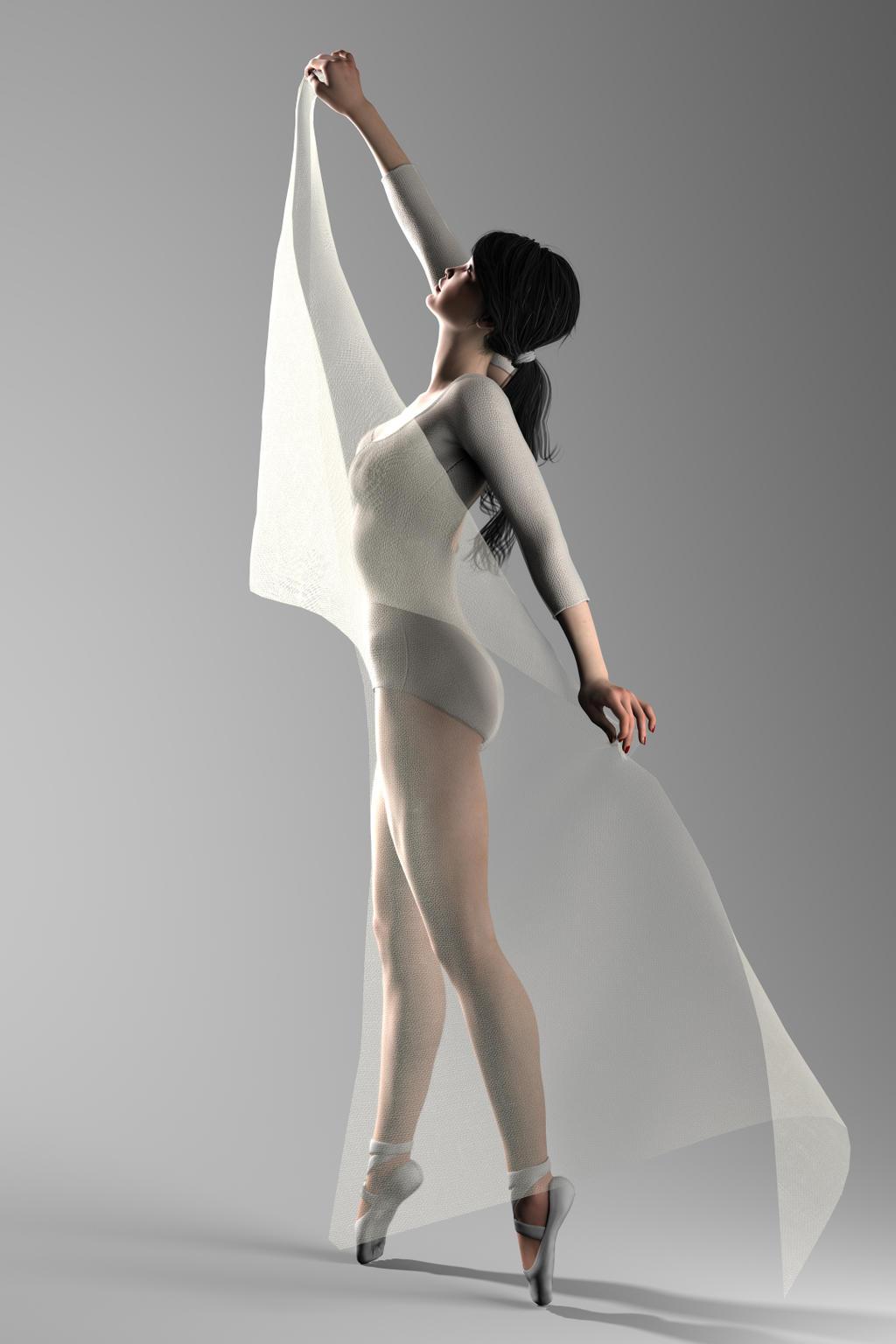 the dancer Part 2 by Digital3Dgrirls
