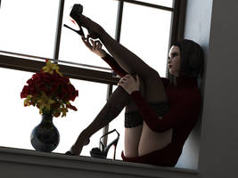 LegsUp window by CgGirls