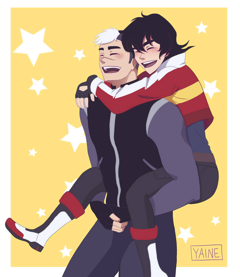 Voltron Positivity Exhange by yainedraws