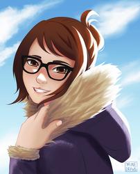 Mei by yainedraws