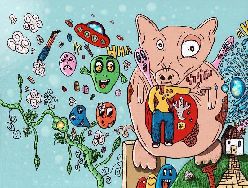 Pig Farm by demonflair