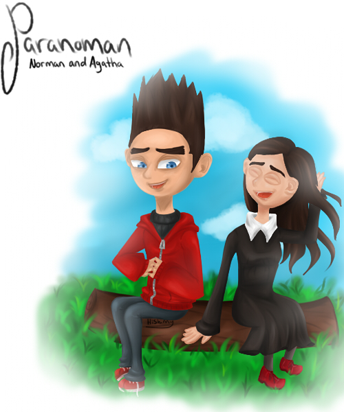 Paranorman Norman and Agatha by Hishimy