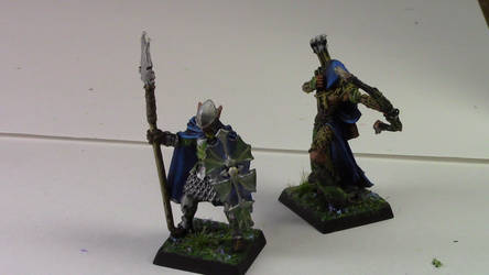 Elf Knight and Waystalker