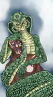 Naga monster girl challenge