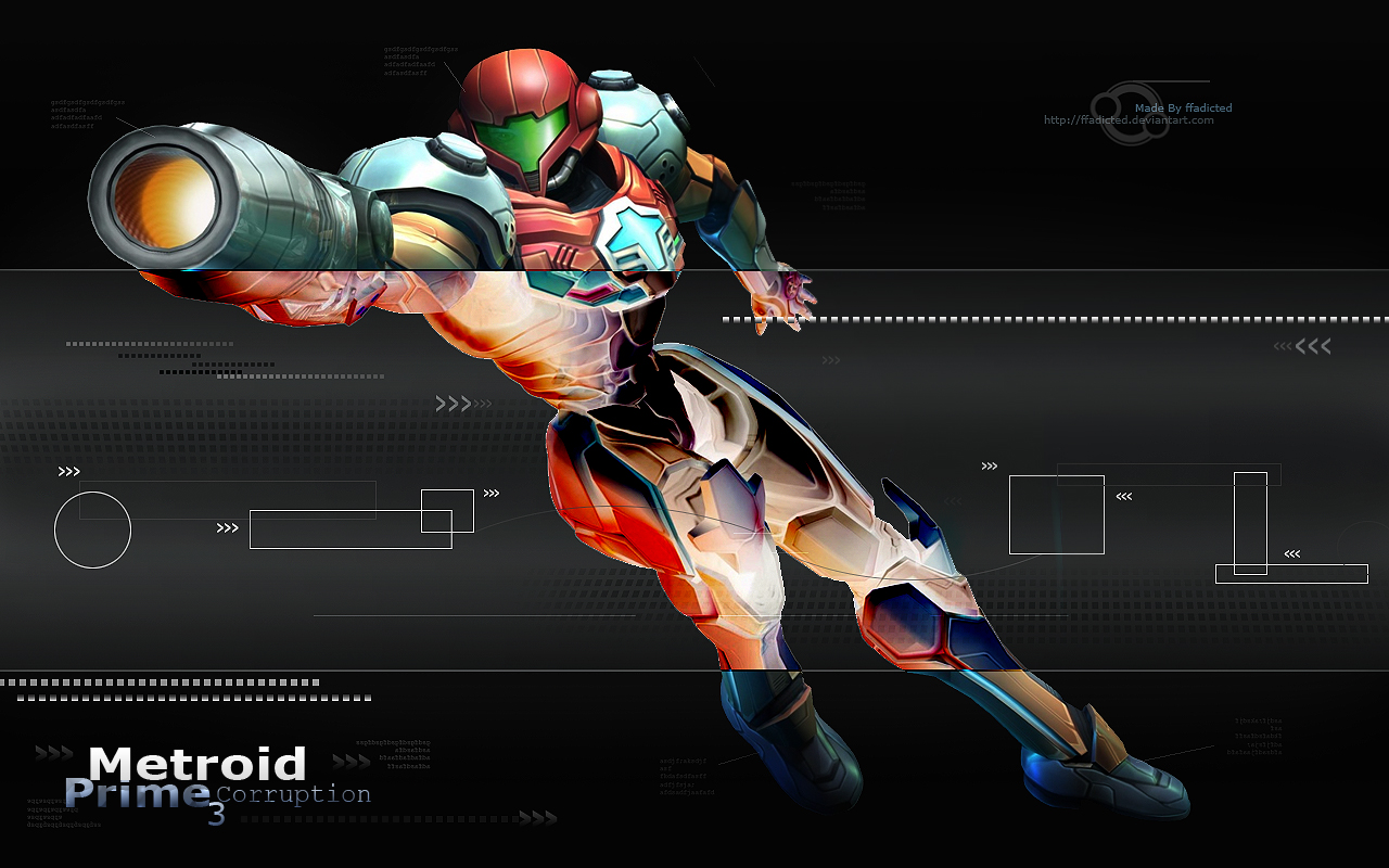 Metroid Prime 3 Wallpaper by ffadicted on DeviantArt