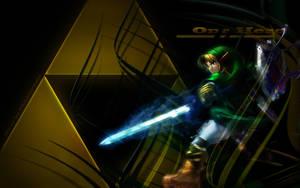 One Hero - Zelda Wallpaper by ffadicted