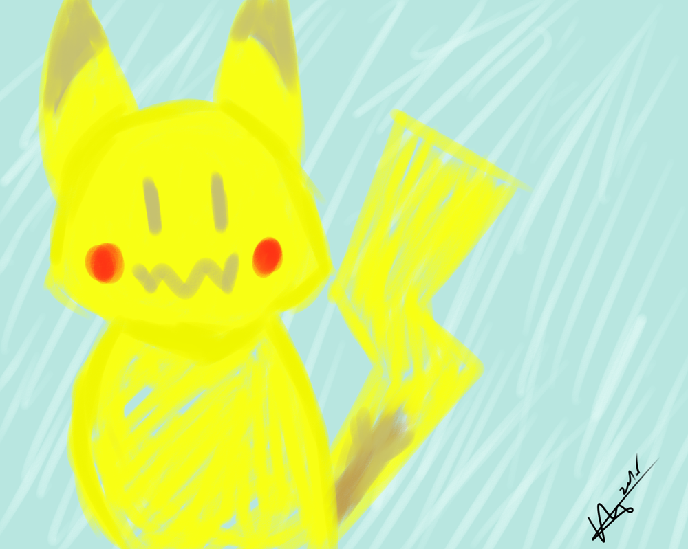 Pokemon Coloring Book Pikachu By DaGrayFox