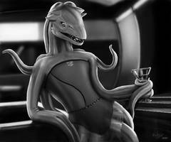 Skhrryhsaa - Drink and talk with an alien by wolfzol