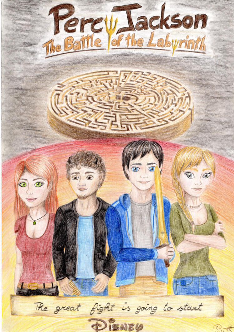 Percy Jackson, the battle of the labyrinth by one-film-one-drawing ...