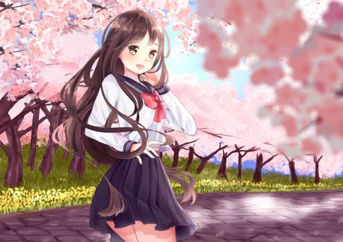 Spring Forever [COMMISSION]