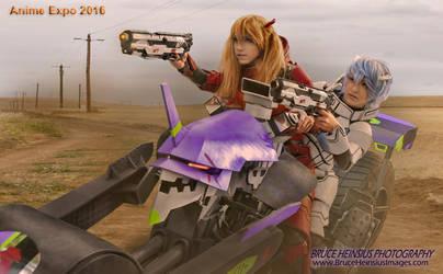 Evangelion Bike Asuka  Rei120140TL800x495