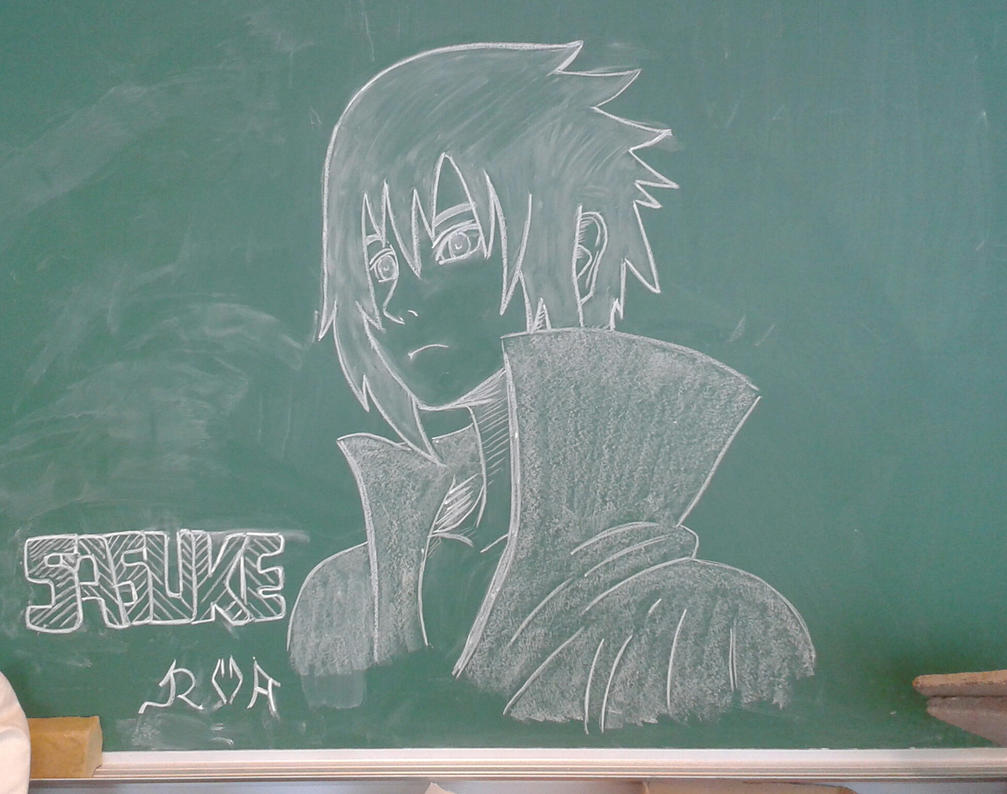 Sasuke by Wolfwoman24