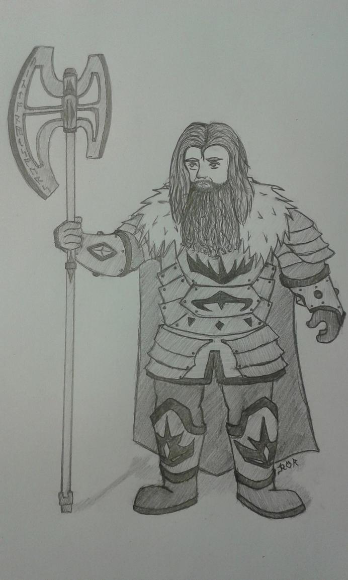 War dwarf Glori by Wolfwoman24