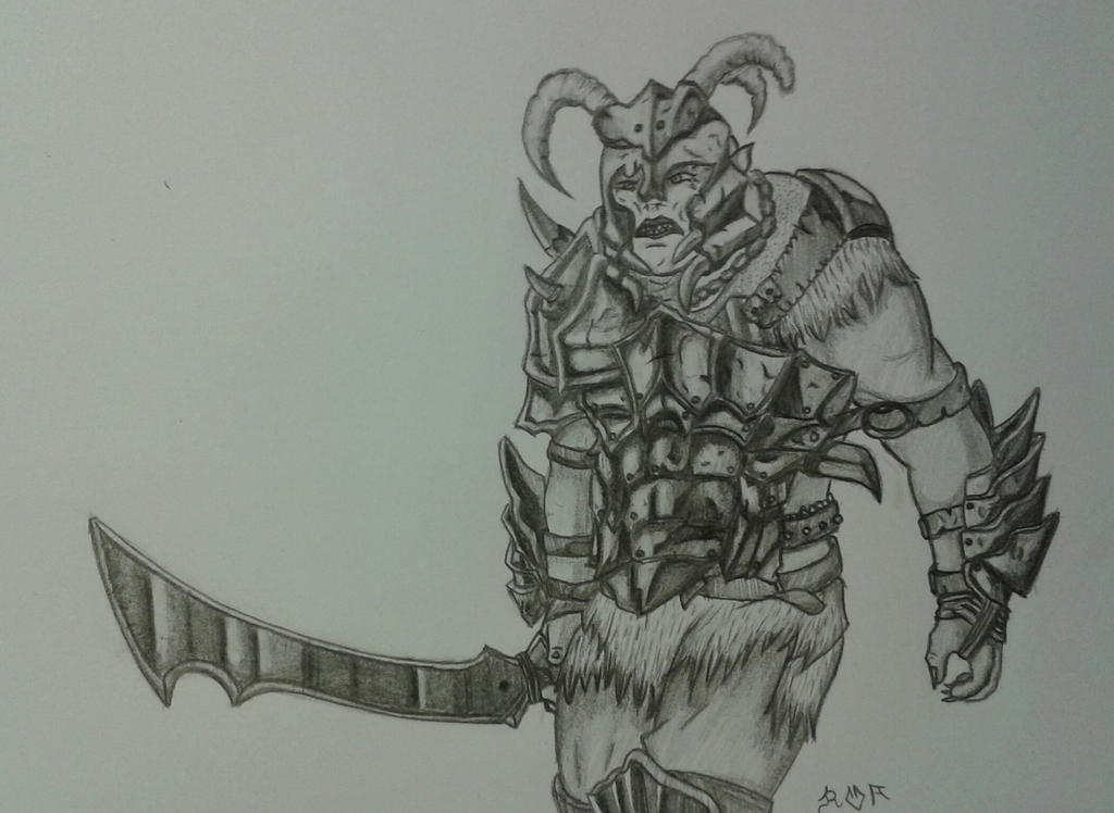 Orc by Wolfwoman24