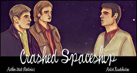 Crashed Spaceship by dragonflyshell