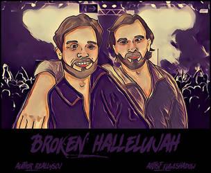 Broken Hallelujah by dragonflyshell