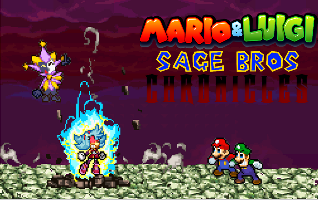 Sage Bros Chronicles project by RockMan6493