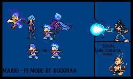 Fi Mario Sprites By Rockman by RockMan6493