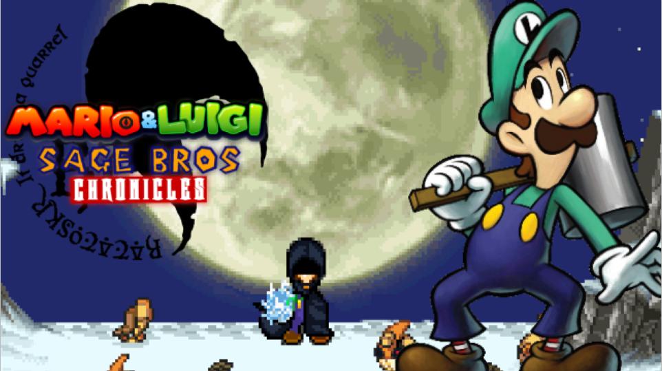 Sage Bros Chronicles project (2) Eyecatch Luigi by RockMan6493