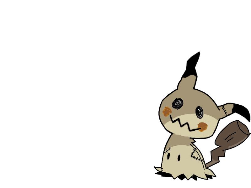 Mimikyu (Incomplete) by RockMan6493