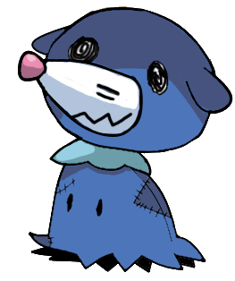 Mimikyu (Popplio) by RockMan6493