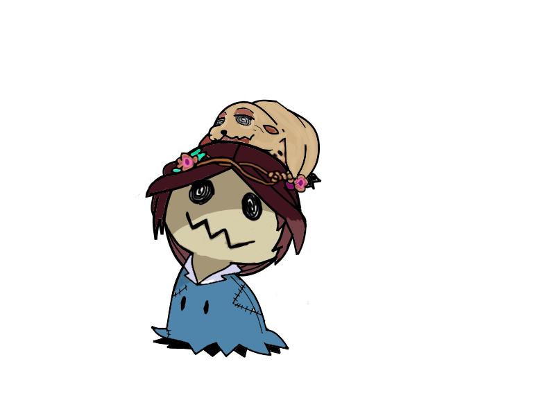 Seal Princess (Mimikyu) by RockMan6493