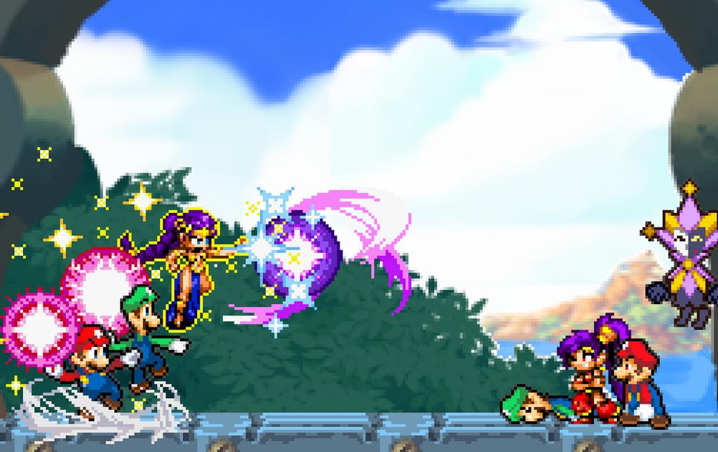 Shantae Bros by RockMan6493