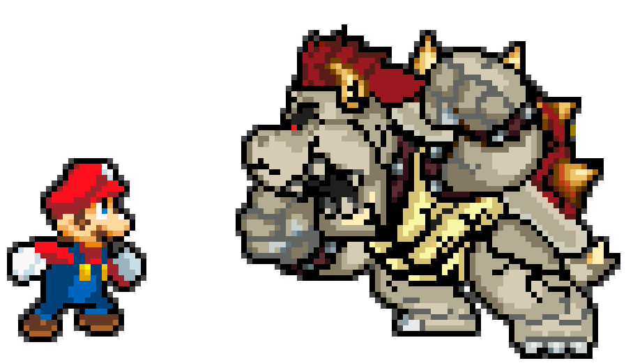 Dry bowser by RockMan6493