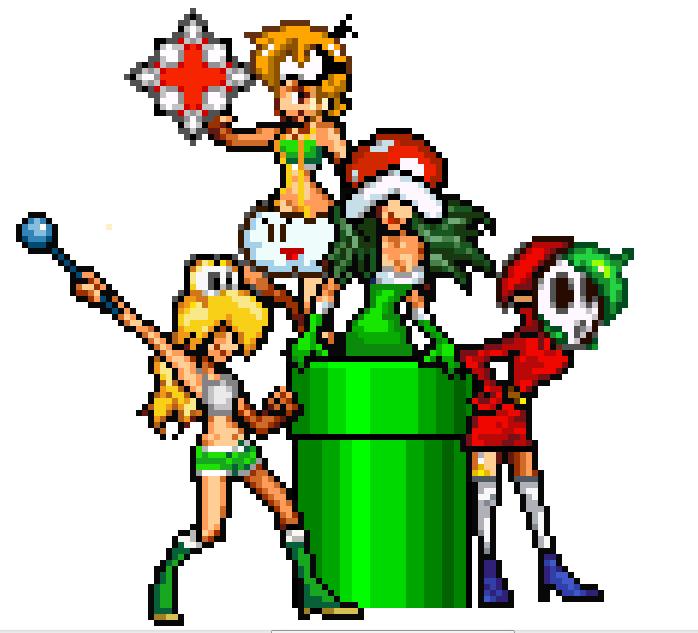 Mario enemies (Minus8) Sprites by RockMan6493