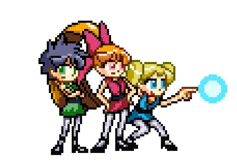 Project Powerpuff Girls by RockMan6493