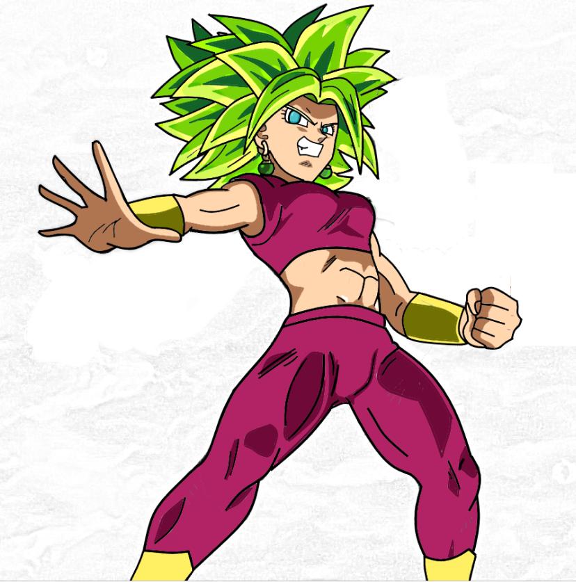 Kefla Super sayajin 2 by RockMan6493