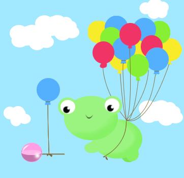 flying frog by IdaCkofoed
