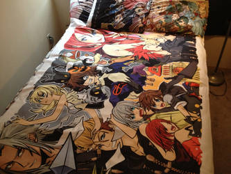 Kingdom Hearts Blanket by TheSpyWhoLuvedMe