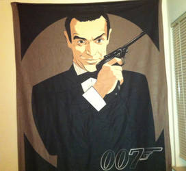 James Bond 007 Blanket by TheSpyWhoLuvedMe