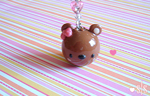 Cute Bear Charm by y2687