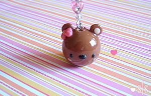 Cute Bear Charm by y2687