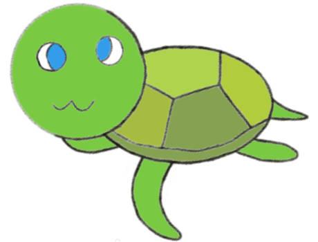 Cute turtle sketch