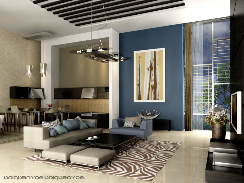 Modern interior 2 by anyoe on deviantart for Home n decor interior design
