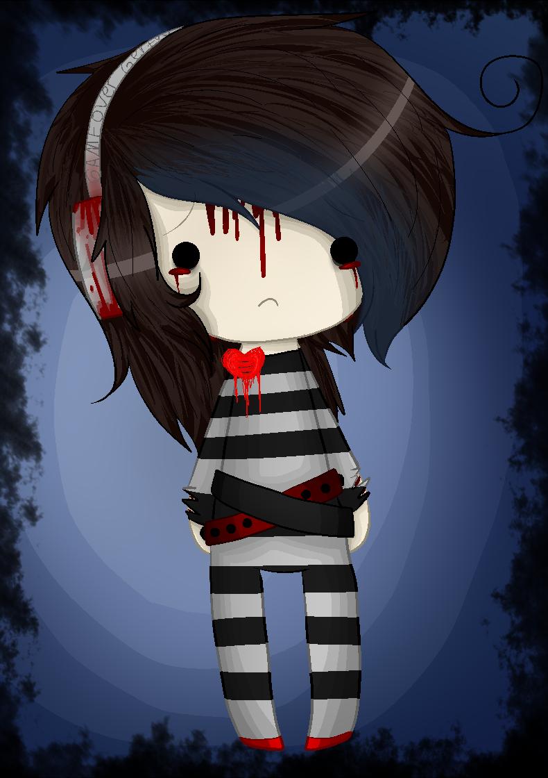 Chibi sadness by Hedgie-Nebula