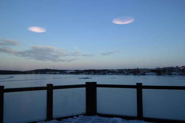 ufo in sweden. by superxtoon