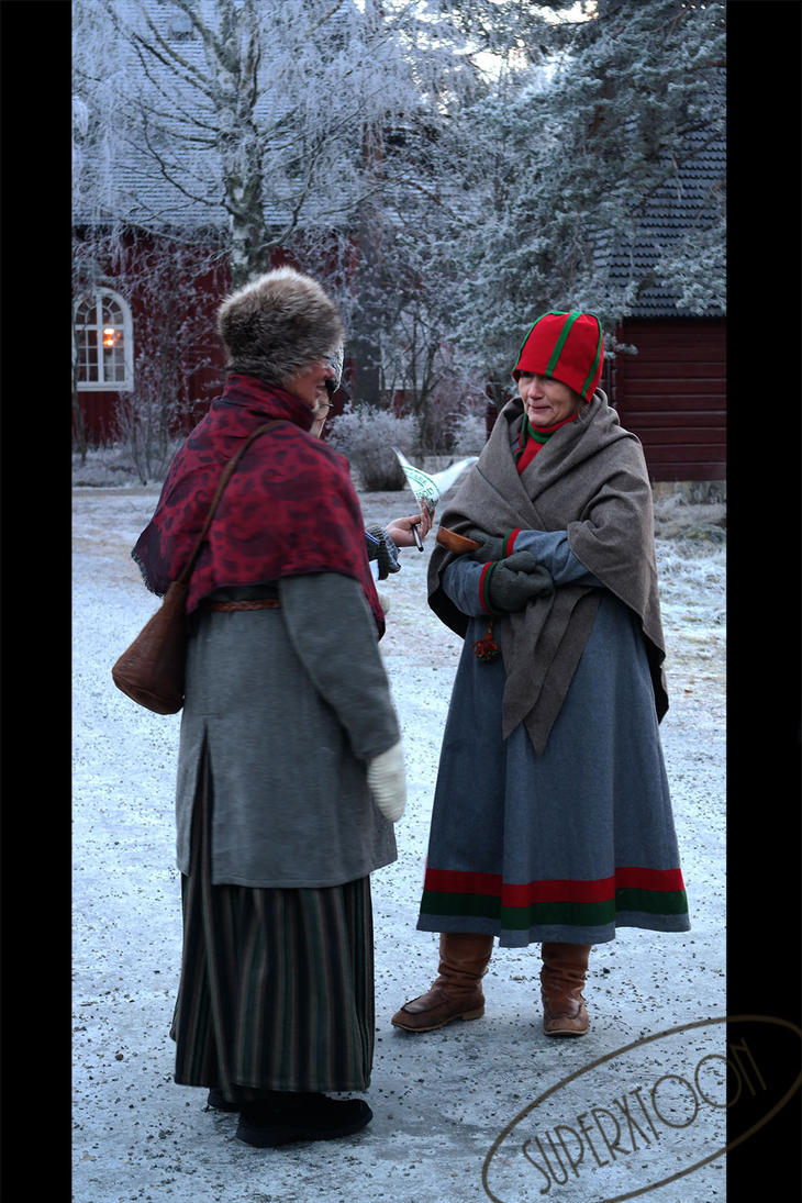 Sami people by superxtoon
