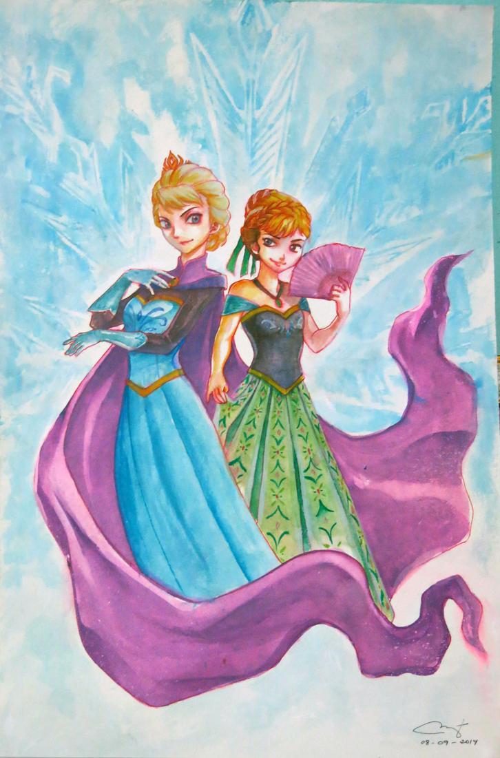 Frozen Fan Art by janemini