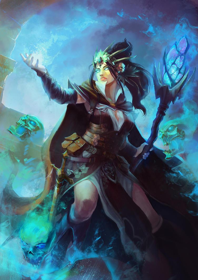 Lucia Aselecia's Curse (Warlock) by janemini