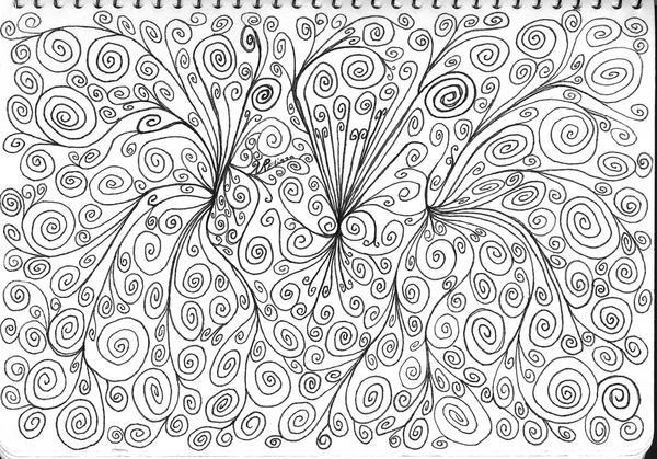Ahhhh Swirls by artisticlymel