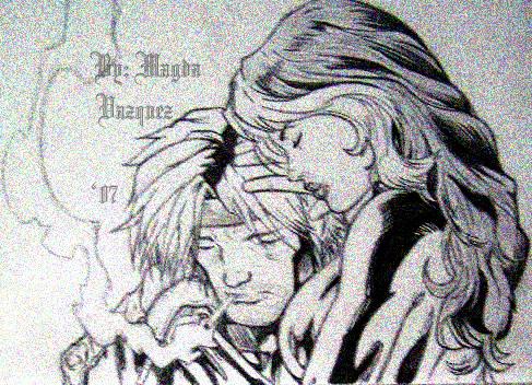 Rogue and Gambit by NehruKozue
